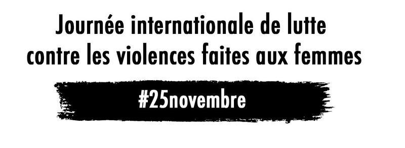 25nov 25novembre journ e internationale de lutte contre les violences faites aux femmes. Black Bedroom Furniture Sets. Home Design Ideas
