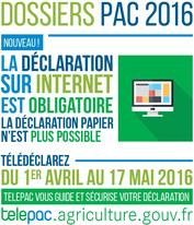 Campagne dossiers PAC 2016