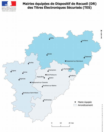 carte communes