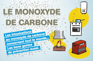 Le froid arrive, attention au monoxyde de carbone !