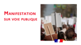 Déclaration de manifestation revendicative