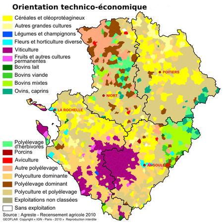 Grande Ville En Poitou Charente